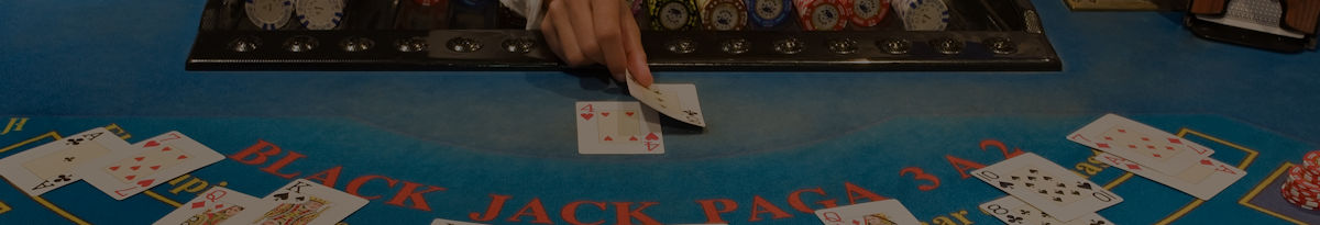 LIVE blackjack in an online casino